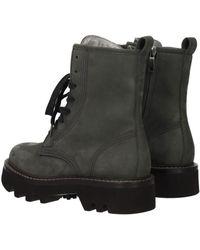 Brunello Cucinelli - Ankle Boots Women Gray - Lyst