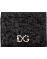 Dolce & Gabbana - Leather Card Holder - Lyst