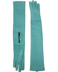 Prada - Gloves Women Green - Lyst