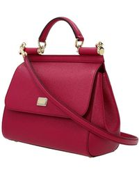 Dolce & Gabbana - Handbags Women Fuchsia - Lyst