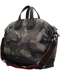 231b05a5ab Givenchy Black Leather Gym Bag in Black for Men - Lyst