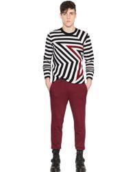 Just Cavalli Star Motif Wool Sweater - Lyst