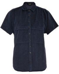Rachel Comey Finch Chino-twill Shirt - Lyst