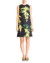 Dolce & Gabbana Brocade Mimosa Shift floral - Lyst