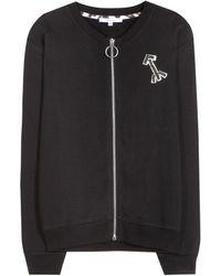 Carven Cotton Bomber Jacket - Lyst