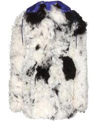 Miu Miu Shearling Coat - Lyst