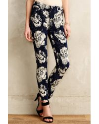 7 For All Mankind Ankle Skinny Jeans - Lyst