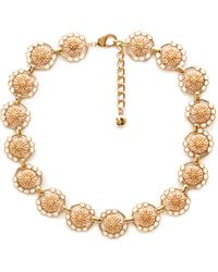 Forever 21 Blooming Medallion Necklace - Lyst