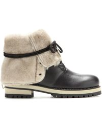 Jimmy Choo Dalton Leather Boots - Lyst