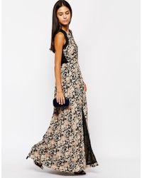 Sugarhill - Lottie Maxi Dress - Lyst