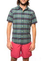 Faherty Brand Ss Seasons Shirt - Lyst