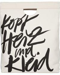 Dorothee Schumacher | Canvas Bag Kopf Herz Kleid | Lyst