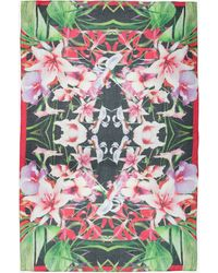 Ted Baker Mirrored Tropics Blanket Scarf - Lyst