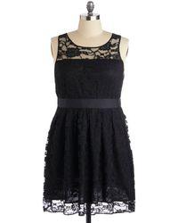 Bb Dakota When The Night Comes Dress In Noir - Lyst