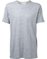 Rag & Bone Tweed T-shirt - Lyst