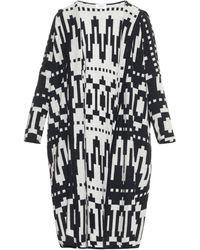 Tak.ori - Geometric Wool-blend Cardigan - Lyst