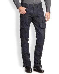 Ralph Lauren Black Label Courier Cargo Pants - Lyst