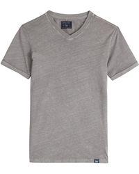 Woolrich Cotton-Linen T-Shirt - Lyst