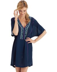 Nanette Lepore Costa Del Sol Tunic Swim Cover Up - Lyst