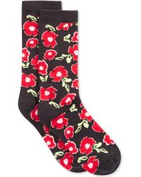 Spectrum Alfani Exploded Floral Crew Socks - Lyst