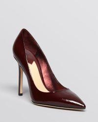 B Brian Atwood Pointed Toe Pumps Naina High Heel - Lyst