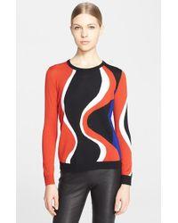 Alexander McQueen Women'S Crewneck Sweater - Lyst
