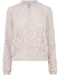 Coast Casey Lace Bomber - Lyst