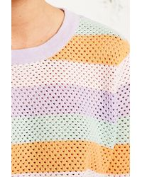 Antipodium   Rouser Rainbow Knitted Jumper   Lyst