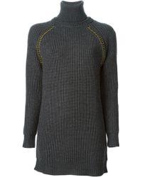 Tory Burch Blazer Zip Up Jacket - Lyst