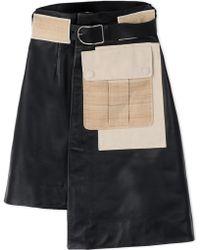 Acne   Leather Skirt   Lyst