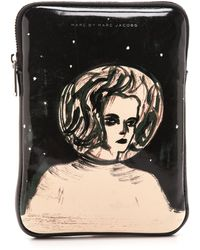 Marc By Marc Jacobs Astronauts Mini Tablet Zip Case - Astro Mama - Lyst