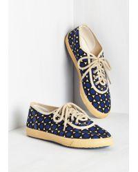 Startas - Sporty Favors The Bold Sneaker In Dots - Lyst