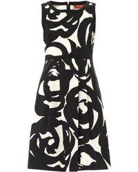 Max Mara Studio Black Hot Dress - Lyst