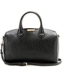 26945dea297f Burberry - Alchester Leather Bowling Bag - Lyst