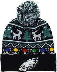 Lyst Ktz Philadelphia Eagles Christmas Sweater Pom Knit Hat For Men