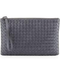 Bottega Veneta Extra-large Cosmetic Wristlet Bag - Lyst