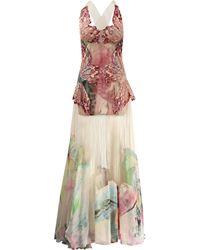 Blumarine Butterfly Gown pink - Lyst