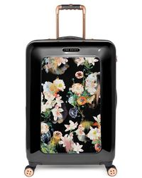 Ted Baker 'Medium Opulent Blooms' Hard Shell Suitcase - Lyst