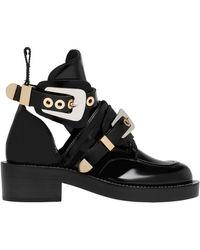 Balenciaga Ceinture Ankle Boots - Lyst
