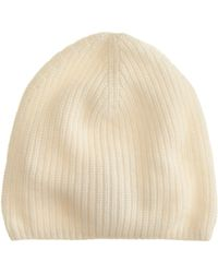 J.Crew Ribbed Cashmere Hat - Lyst