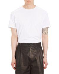 Balenciaga Logo Back T-Shirt - Lyst