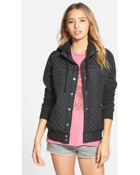 RVCA | 'regulate' Quilted Jacket | Lyst