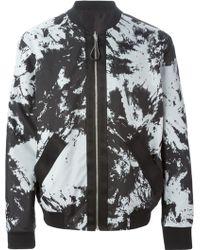 Alexander Wang Tie Dye Bomber Jacket - Lyst