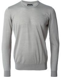 Giorgio Armani Lightweight Sweater - Lyst