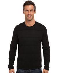 Calvin Klein Cotton Modal Ottoman Sweater - Lyst