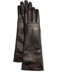 Grandoe - Elbow-length Leather Tech Gloves - Lyst