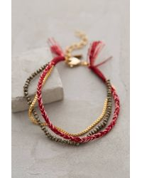Shashi Three Sisters Bracelet - Lyst