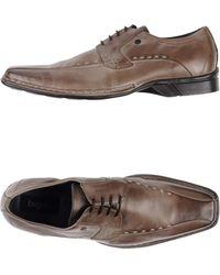 Bugatti Lace-Up Shoes - Gray
