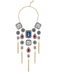Azzaro | Gold Dauphiné Scenographical Necklace | Lyst