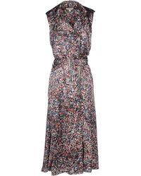 Jean Paul Gaultier 3/4 Length Dress - Lyst